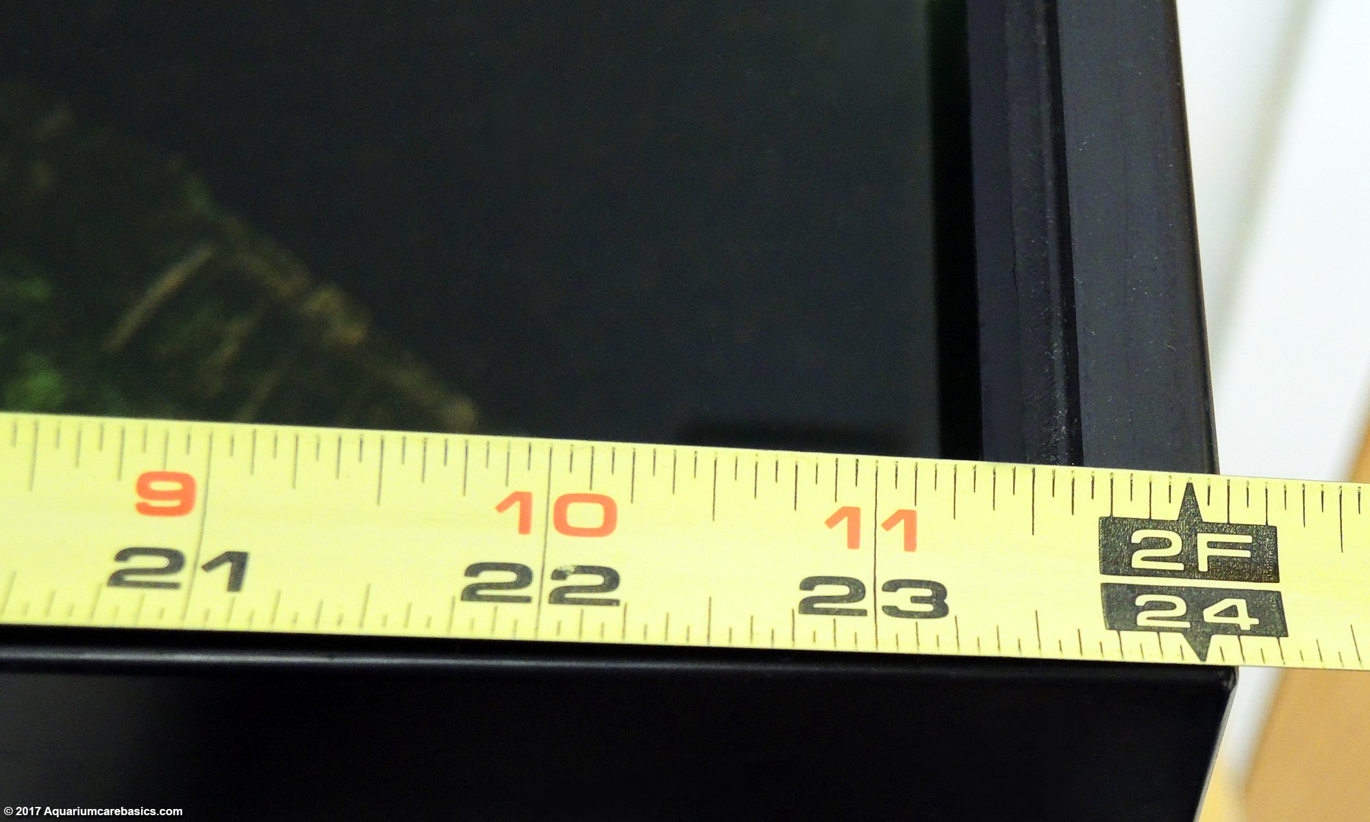 Aquarium Dimensions Measured In Inches